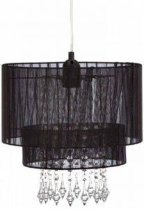 Lustre Amy Smartwares 6000.151 – Textile – Noir de la marque RANEX image 0 produit