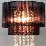 Lustre Amy Smartwares 6000.151 – Textile – Noir de la marque RANEX image 1 produit
