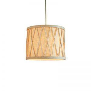 Lustre Bamboo Zen Lampe En Bois Massif 280 MmX920 Mm pour salon salle à manger hôtel de la marque ZHA image 0 produit
