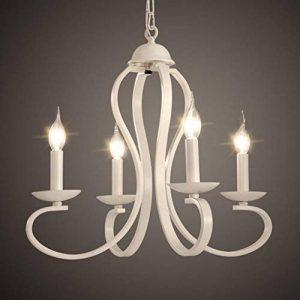 lustre baroque blanc TOP 13 image 0 produit