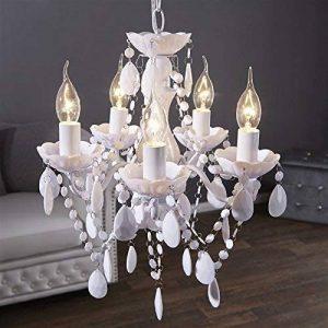lustre baroque blanc TOP 5 image 0 produit