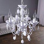 lustre baroque blanc TOP 5 image 4 produit
