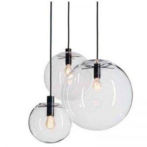 lustre boule de verre TOP 1 image 0 produit