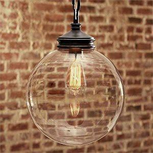 lustre boule de verre TOP 10 image 0 produit