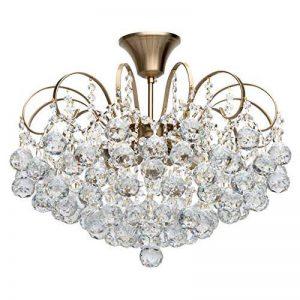 lustre bronze et cristal TOP 0 image 0 produit