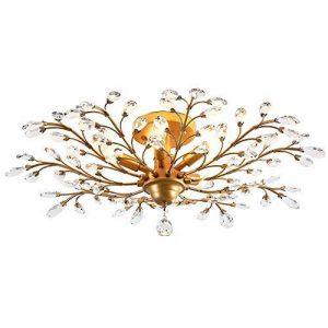 lustre bronze et cristal TOP 5 image 0 produit