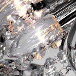 Lustre,Create For Life® Lustre en cristal 3 lumières, chrome Terminer,Eclairage de Plafond, Luminaires Intérieur l'étude chambre bureau, salle à manger, chambre à coucher, Salon de la marque Create for Life image 2 produit