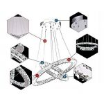 lustre cristal design TOP 4 image 3 produit