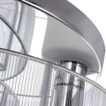 Lustre en Acrylique à 2 Ampoules, Finition Chromée pour un Style Contemporain de la marque LightInTheBox image 1 produit