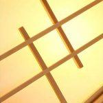 Lustre en bois massif Barre de style japonais Comptoir de bar Café restaurant Tea House Eclairage LED E27 Écologique et durable de la marque QQDIAODENG image 3 produit