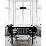 Lustre en fer forgé lustre rond pour salon salle à manger hôtel de la marque ZHA image 4 produit