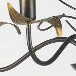 lustre fer forge noir TOP 11 image 1 produit