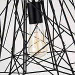 lustre fer forge noir TOP 2 image 2 produit