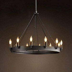 lustre fer forge noir TOP 7 image 0 produit