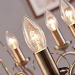 Lustre Marnia 8 lampes Laiton ancien Salle à manger Table à manger Éclairage de la marque Lampenwelt image 4 produit