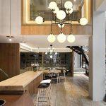 @lustre Nordic Creative Magic Bean Lustre Boule De Verre Restaurant Chambre Salon Vêtements Magasin Café Studio Lustre - 8 / 12heads (Couleur : A-12heads) de la marque lustre image 4 produit
