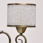 Lustre Suspension Moderne à 5 Lampes en Métal couleur Bronze Antique décoré de Pendeloques en Cristal avec Abat-jours en Boules Acryliques pour Chambre Salon 5x40W E14 de la marque MW-Light image 3 produit