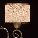 Lustre Suspension Moderne à 5 Lampes en Métal couleur Bronze Antique décoré de Pendeloques en Cristal avec Abat-jours en Boules Acryliques pour Chambre Salon 5x40W E14 de la marque MW-Light image 4 produit
