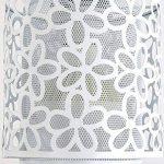 Lustre suspension plafonnier creuse créatifs moderne Fer Blanc Éclairage décoratif pour travail Chambre Chambre et Salon Salle à manger Cafe Cuisine Office Bar Restaurants (3 têtes.) de la marque ZTLEUCHTE image 3 produit