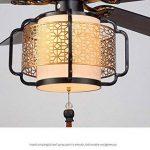 Lustre Ventilateur Lustre Traditionnel Ventilateur Led Lumière Moderne Minimaliste Chambre Salon Lustre Ventilateur Plafond Traditionnel Ventilateur Lumière Industrielle Lumière À Dîner de la marque FEI image 3 produit