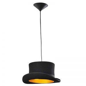 Lustres RéTro LumièRe Lampe Chapeau Le Fer Vintage Noir Suspension Pour Café à Manger Plafond LumièRes de AOKARLIA , A de la marque AOKARLIA image 0 produit