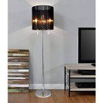 [lux.pro] Lampadaire 167x40cm Lampe métal noir chrom de la marque lux.pro image 3 produit