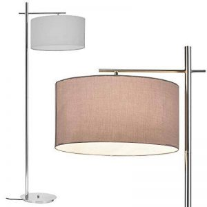[lux.pro] lampadaire - London - (1 x socle E27)(175 cm x Ø 28 cm) lampe sur pied lampe de plancher lampe lampe de salon de la marque lux.pro image 0 produit