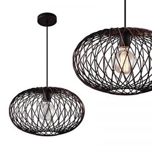 [lux.pro] Lampe à suspension métal bronze [abat jour:40cm] de la marque lux.pro image 0 produit