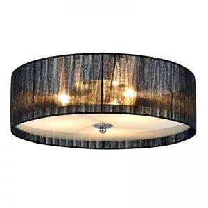 [lux.pro] luminaire suspendu plafonnier - Helena - plafonnier (3 x socles E27)(12 cm x Ø 40 cm) lampe de chambre lampe de salle de séjour de la marque lux.pro image 0 produit