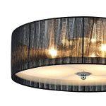 [lux.pro] luminaire suspendu plafonnier - Helena - plafonnier (3 x socles E27)(12 cm x Ø 40 cm) lampe de chambre lampe de salle de séjour de la marque lux.pro image 4 produit