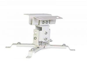 Luxburg® kit de Support Plafond Universel en Aluminium pour Projecteur - soutient 15kg 30 degrés Blanc de la marque Luxburg® image 0 produit