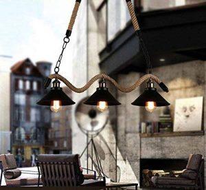 lZHSTOR Fer Vintage Lustres Restaurant Et Bar Café Loft Industriel Gaz Cartouche S'Allume Feux Allée De Personnalité Créatrice Hôtels,Luminaire 3 de la marque lZHSTOR image 0 produit