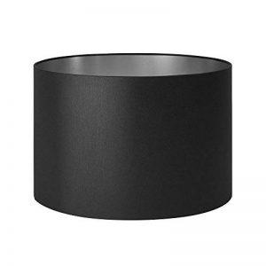 MADURA Abat-Jour cylindrique Solas - Noir et Argent - 30x20x30 cm de la marque MADURA image 0 produit