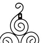 MagiDeal 1pcs Porte-Bougie en Fer Kit de Support pour Bougie Décor Maison Bougeoir Plaque Murale - Motif # 1, 35.5x19cm de la marque MagiDeal image 4 produit