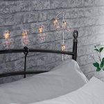 MagiDeal Guirlandes Lumineuses Forme en Diamant en Fer Lampe LED Décoration pour Noël par Pile Blanc Chaud de la marque MagiDeal image 4 produit