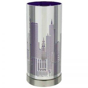 Maison Futée - Lampe Touch New-York avec variateur tactile de lumière - Modèle Violet de la marque Maison Futée image 0 produit