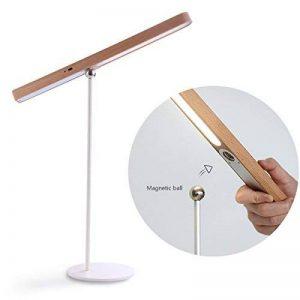 Makimoo LED Lampe de Bureau, Lampe de Table avec gradateur de luminosité à 3 niveaux, Luminosité Ajustable, Contrôle Tactile, Protection des Yeux,, port USB pour la lecture, l'étude, le travail, le bureau, la maison de la marque Makimoo image 0 produit