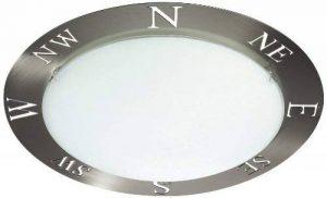 Massive Compass Plafonnier Acier Brossé 60 W E27 Chrome Mat de la marque Philips Lighting image 0 produit