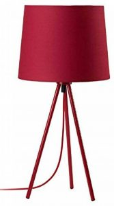 Mathias 3470371 Miya Lampe avec Trépied 40 W E27 230 V Rouge Diamètre 23 cm Hauteur 48 cm de la marque Mathias image 0 produit