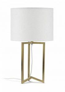 Mathias 3475013 Lampe Sibyl Laiton H53 D30, Métal/ABJ Polyester, E27, 230 W, Or de la marque Mathias image 0 produit