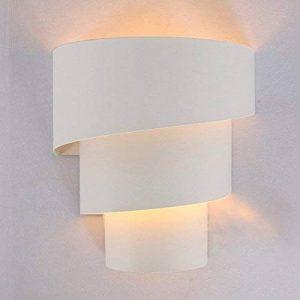 Maxmer 7W Applique Murale Intérieure LED Aluminium Lampe Originale Moderne Simple Eclairage Lumiaire Décoration pour Chambre Maison Couloir Salon Blanc Chaud Ampoule Inclus de la marque Lightess image 0 produit
