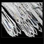 Maxmer Lustre en Cristal Ceiling Design Moderne Eclairage de plafond Plafonnier E14 Pendentif 4 Luminaire Intérieur Lampe Suspension Décorative pour Chambre Salle à manger Salon Hôtel Restaurant de la marque Maxmer image 3 produit