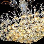 Maxmer Lustre en Cristal Ceiling Design Moderne Eclairage de plafond Plafonnier Luminaire Intérieur Lampe Suspension Décorative pour Chambre Salle à manger Salon Hôtel Restaurant de la marque Maxmer image 4 produit
