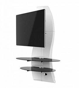 Meliconi Ghost Design 2000 DR Meuble Mural Orientable avec Bras de Déport pour Écran Plasma/LCD 32 à 63'' - Blanc de la marque Meliconi image 0 produit