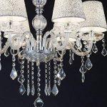 MELION ø 60 cm en forme de lustre en cristal lustres deckenleuchter lampes abat-jour de la marque Lewima image 3 produit