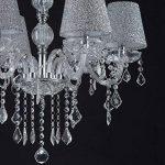 MELION ø 60 cm en forme de lustre en cristal lustres deckenleuchter lampes abat-jour de la marque Lewima image 4 produit