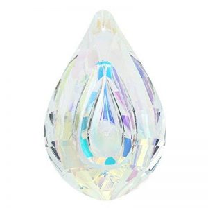 Merssavo Pampille en cristal 76mm en forme goutte d'eau Decoration pour lustres de la marque Merssavo image 0 produit