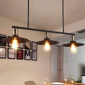 Meters Retro Industriel Vent Lustre Restaurant Lampe Billard Table Bar Creative 3 lustres de la marque Lustres image 0 produit