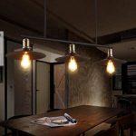 Meters Retro Industriel Vent Lustre Restaurant Lampe Billard Table Bar Creative 3 lustres de la marque Lustres image 1 produit