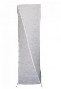 Meubletmoi Lampadaire Papier Blanc Pieds métal - Ambiance Douce Salon - 105 cm de la marque Meubletmoi image 0 produit